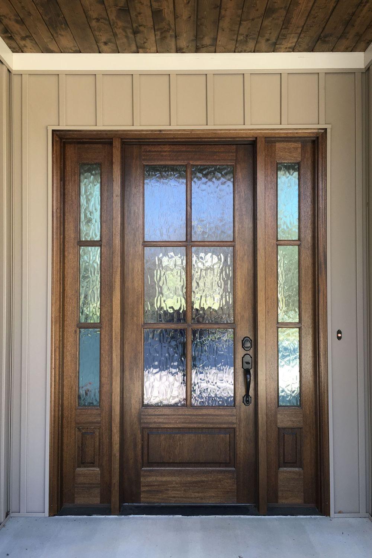 smart glass front door